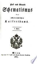 Hof- und Staats-Schematismus des österreichischen Kaiserthums