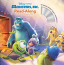 Monsters  Inc  Read Along Storybook and CD