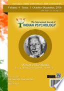 The International Journal of Indian Psychology, Volume 4, Issue 1, No. 77 Pdf/ePub eBook