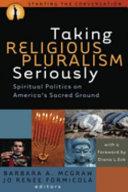 Taking Religious Pluralism Seriously