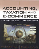 Accounting/taxation and e-commerce