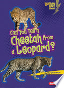 Can You Tell a Cheetah from a Leopard  Book PDF
