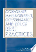 Corporate Management  Governance  and Ethics Best Practices
