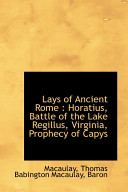 Lays of Ancient Rome