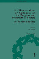 download ebook sir thomas more: or, colloquies on the progress and prospects of society, by robert southey pdf epub