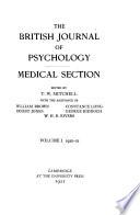 British Journal of Psychology Book PDF