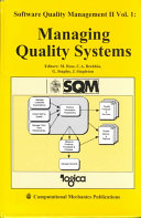 Software Quality Management II