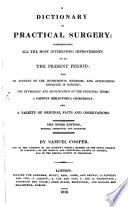 A Dictionary of practical Surgery