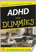 Adhd Voor Dummies