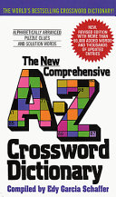 New Comprehensive A Z Crossword Dictionary