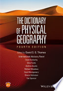 The Dictionary Of Physical Geography book
