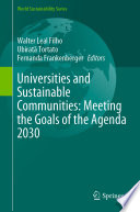 Universities And Sustainable Communities: Meeting The Goals Of The Agenda 2030 : ...