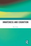 Innateness and Cognition Book