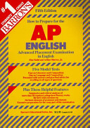 Barron s how to Prepare for the Advanced Placement Examination in AP English