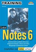 Training Lotus Notes 6