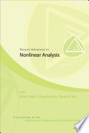 Recent Advances in Nonlinear Analysis