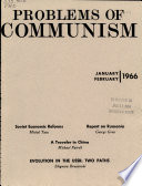 Problems of Communism Book PDF