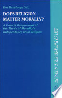 Does Religion Matter Morally