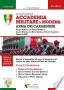 Concorso Accademia Militare di Modena  Arma Dei Carabinieri  Prova di preselezione