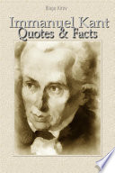 Immanuel Kant  Quotes   Facts
