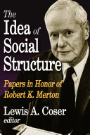 Idea of Social Structure  the