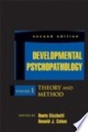 Developmental Psychopathology Developmental Neuroscience