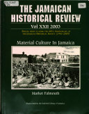 The Jamaican Historical Review : ...