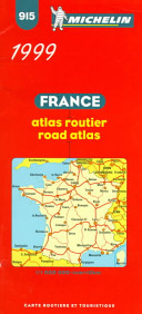 Michelin Frankreich (France) Atlas Routier 1 : 1 000 000.