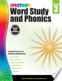 Spectrum Word Study and Phonics  Grade 3