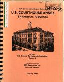 U.S. Courthouse Annex, City of Savannah
