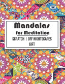 Mandalas For Meditation Scratch Off Nightscapes Gift