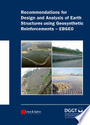 Recommendations for Design and Analysis of Earth Structures using Geosynthetic Reinforcements   EBGEO