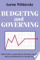 Budgeting and Governing