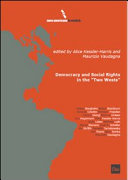 Democracy And Social Rights In The Two Wests