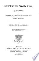 Shropshire Word book