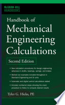Handbook of Mechanical Engineering Calculations  Second Edition