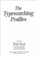 The Typewatching Profiles