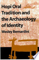 Hopi Oral Tradition and the Archaeology of Identity