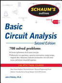 Schaum s Outline of Basic Circuit Analysis  Second Edition
