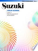 Suzuki Violin School   Volume 4  Revised