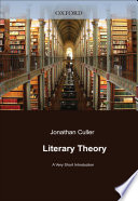 Literary Theory  A Very Short Introduction