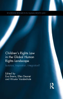 Children's Rights Law in the Global Human Rights Landscape Book