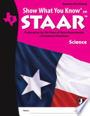 SWYK on STAAR Science Gr  5  Student Workbook