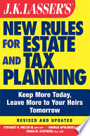 Jk Lasser S New Rules For Estate And Tax Planning