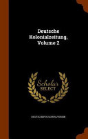Deutsche Kolonialzeitung Culturally Important And Is Part Of The