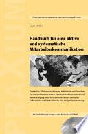 Handbuch f  r eine aktive und systematische Mitarbeiterkommunikation