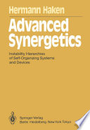 Advanced Synergetics