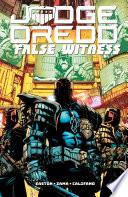 Judge Dredd  False Witness Book PDF