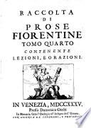 Prose Fiorentine