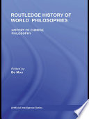The Routledge History of Chinese Philosophy